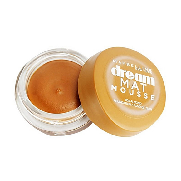 MAYBELLINE Fond de teint DREAM MAT MOUSSE 55 ALMOND