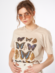 Butterflies In My Stomach Oversized T-shirt
