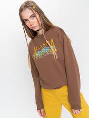Alaska Sweater in Brown