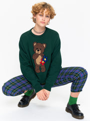 Cute Teddy Bear Knitted Jumper - Minga London