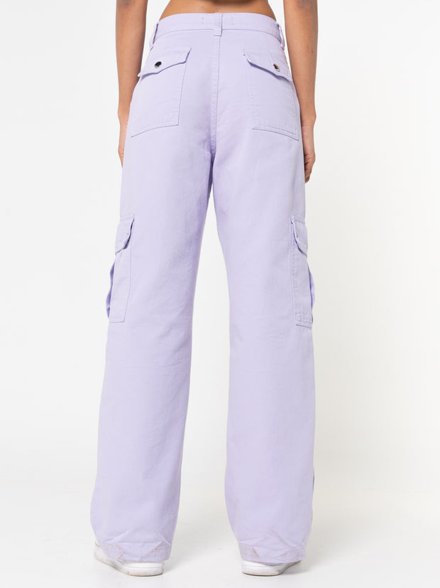 Lilac Utility Trousers