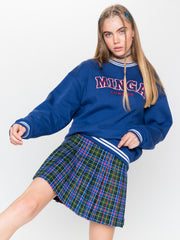 Minga Sporty Sweater in Blue