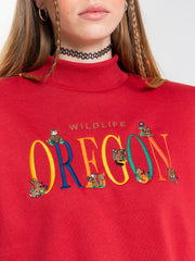 Oregon Oversized High Neck Sweater