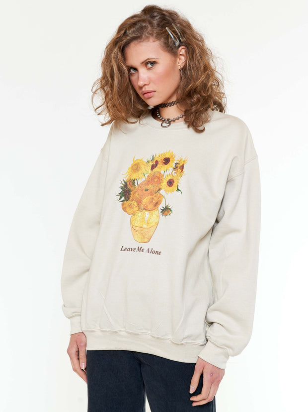 Van Gogh Sunflowers Sweater