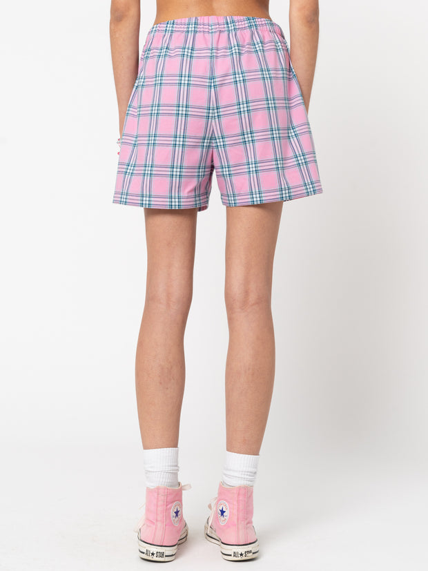 Hannah Boxer Plaid Shorts - Minga London