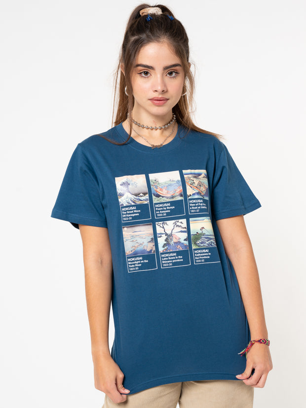 Hokusai Art Collection T-shirt - Minga London