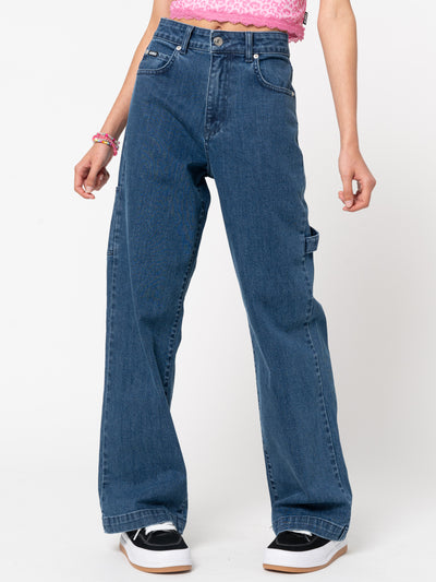 Indigo Carpenter Jeans - Minga London
