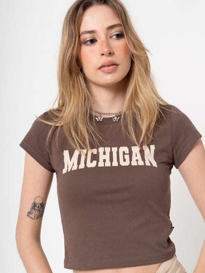 Michigan Crop Tee - Minga London