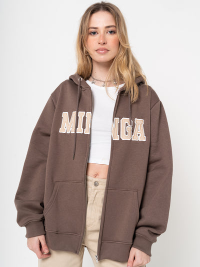 Minga Logo Zip Up Hoodie Jacket - Minga London
