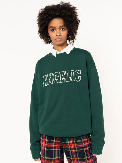 Angelic Embroidered Sweater - Minga London
