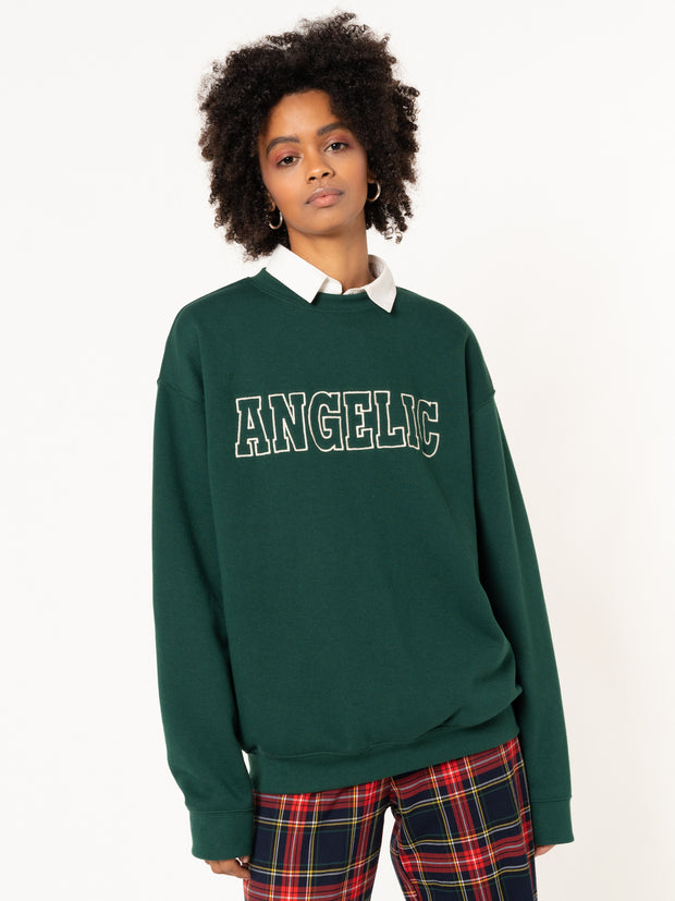 Angelic Embroidered Sweater