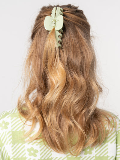 Sage Green Hair Claw Clip - Minga London