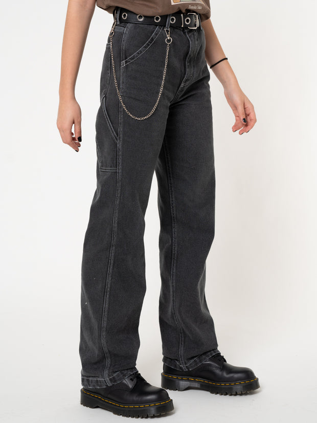 Carpenter Jeans in Washed Black