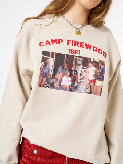 Minga Camp Firewood 1981 Sweater in Beige