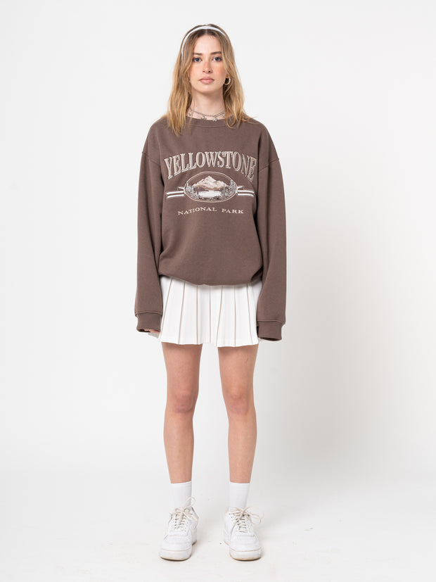 Yellowstone National Park Sweater - Minga London