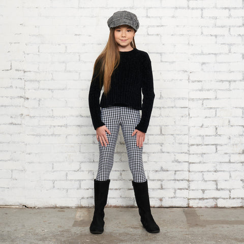 Layla in Houndstooth Styled