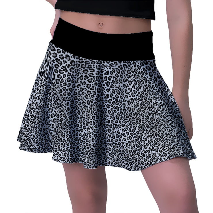 Snow Leopard Sport Skirt