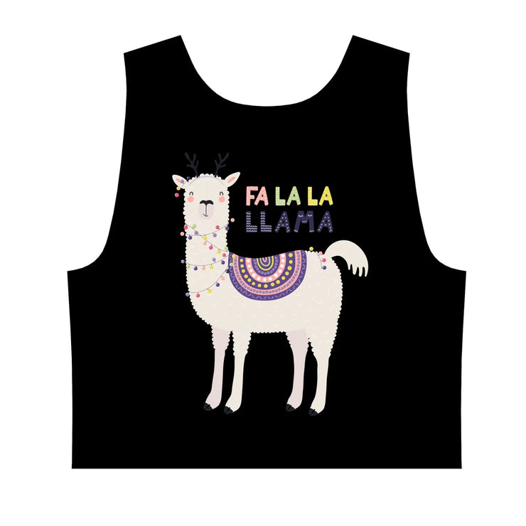 Llama Lights Crop Top