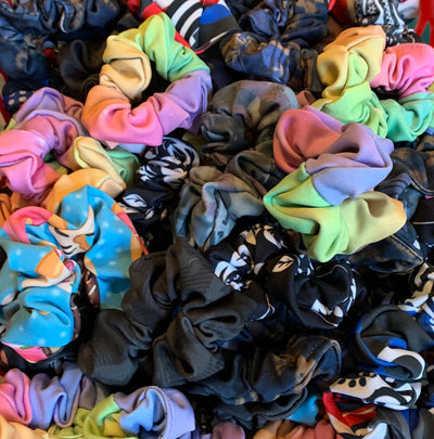 Scrunchies for your Hair and Wrist!