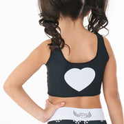 Paw Print Crop Top