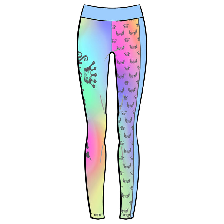 SugarLulu Tie Dye Logo Leggings