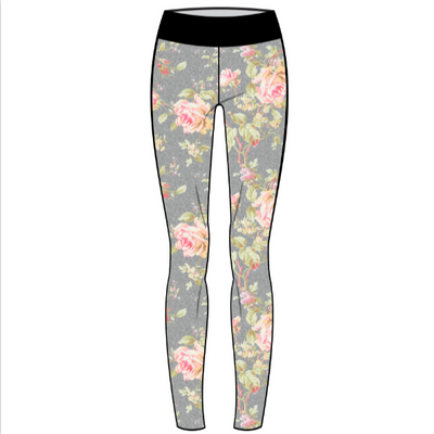 Warrior Floral Leggings