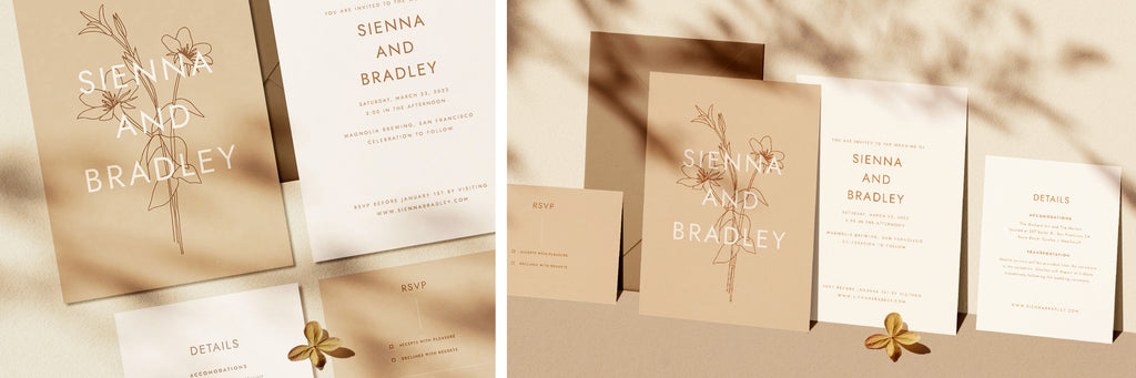 Wedding Invitations DIY, elegant Wedding Invitations, Rustic Wedding Invitations