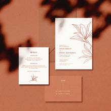 Load image into Gallery viewer, Desert Willow Wedding Invitation