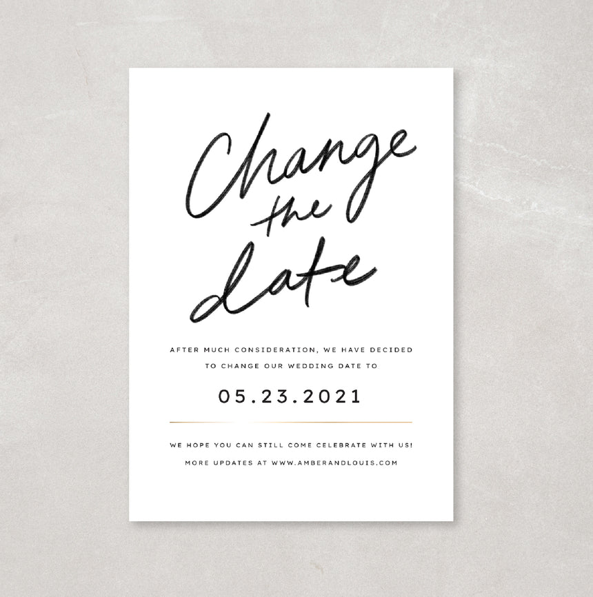 Text-Friendly Change the Date - Breezy