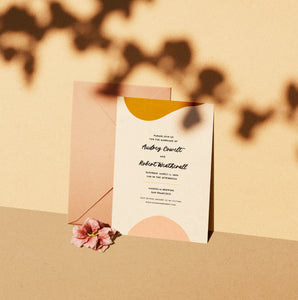 Sunset Wedding Invitation