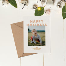 Load image into Gallery viewer, Holly Holiday Card