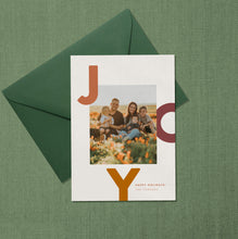 Load image into Gallery viewer, Joy Holiday Card