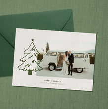 Load image into Gallery viewer, Spruce Holiday Card
