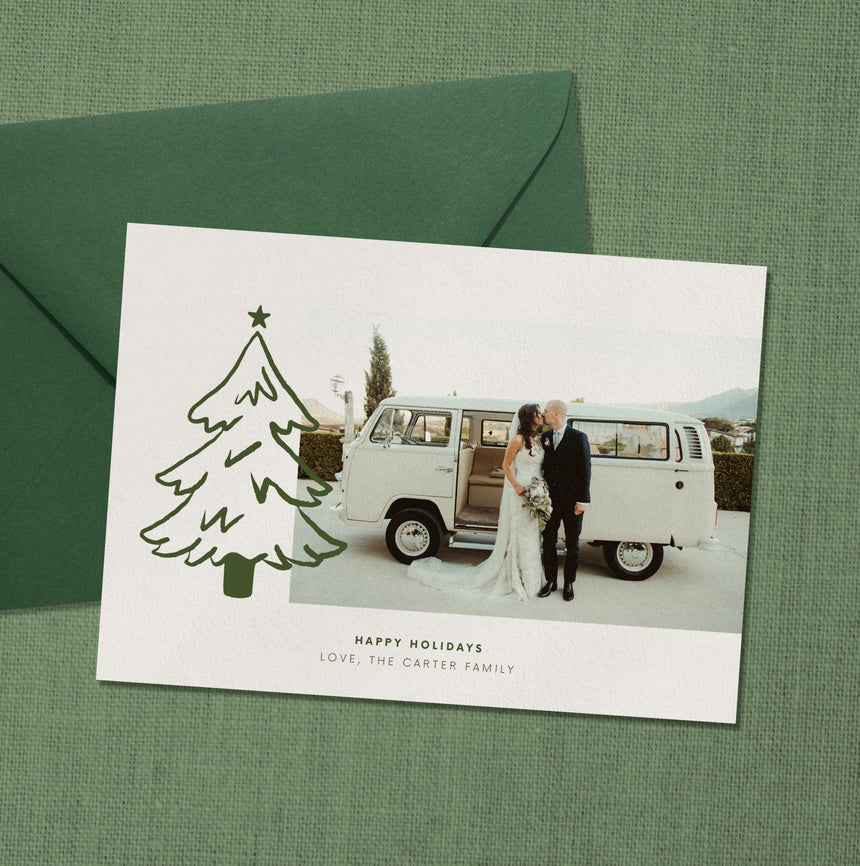 Spruce Holiday Card