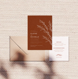 Desert Sage Invitation