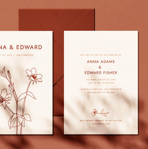 Wildflower Invitation