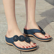 Flower Clip Toe Beach Sandals(NOW 50% OFF)