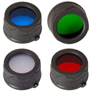 Lot filtre couleur - 40mm - Lampe torche & Co