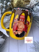 Load image into Gallery viewer, Abuelita chocolate drip coffee tumbler