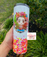Load image into Gallery viewer, Frida glitter tumbler