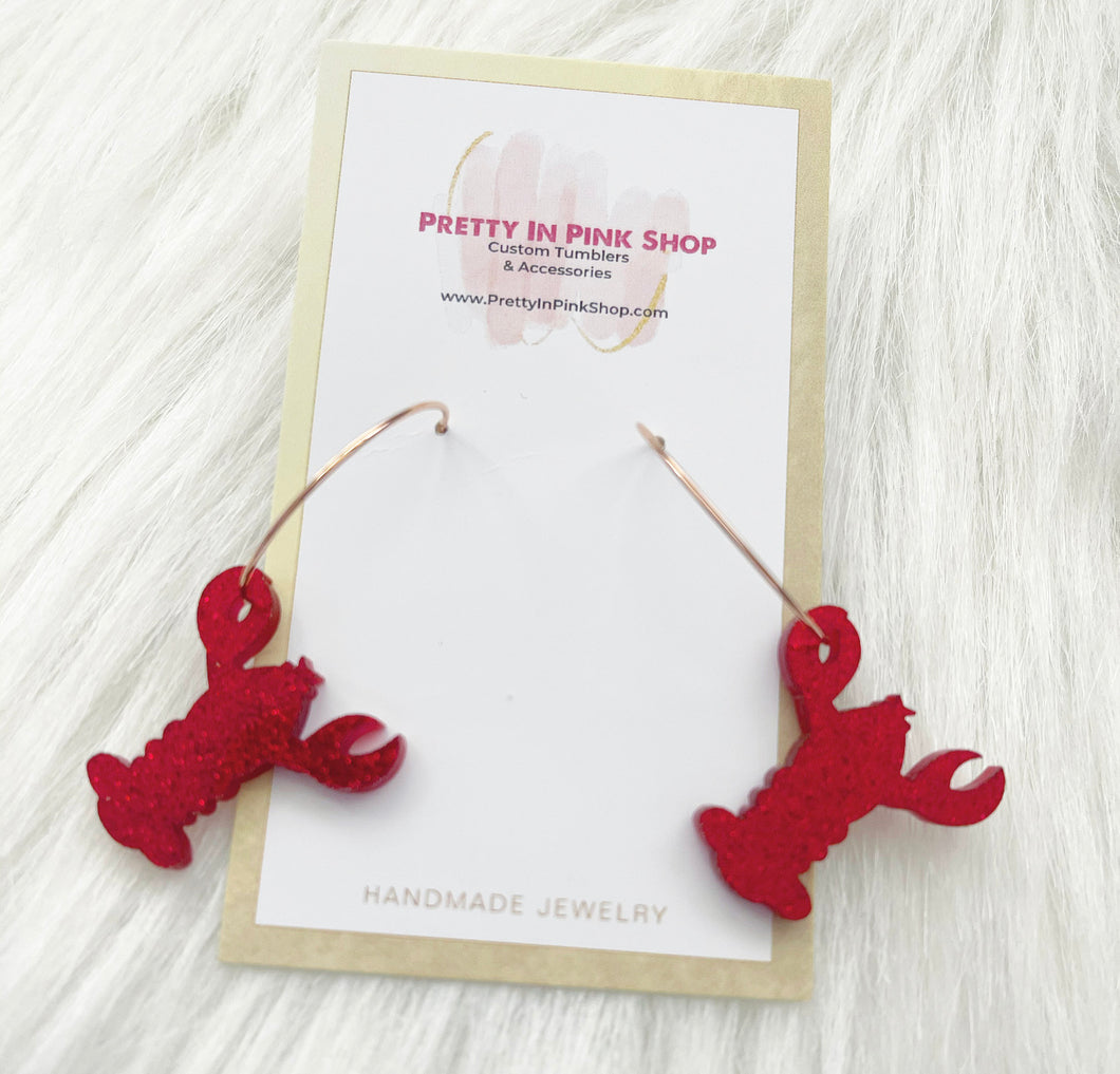 You're my lobster earrings