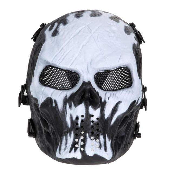 3C Airsoft Full Face Mask Skull Style - KNAMAO