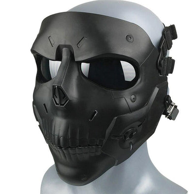 AIRSOFTA Iron-Blood MZ-028 Airsoft Skull Face Mask - KNAMAO