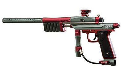 Azodin KP3.5 KAOS Pump Paintball Marker Titanium-Red - KNAMAO
