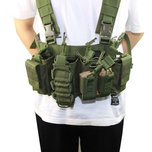 CLUSGO Tactical Airsoft Chest Rig - KNAMAO