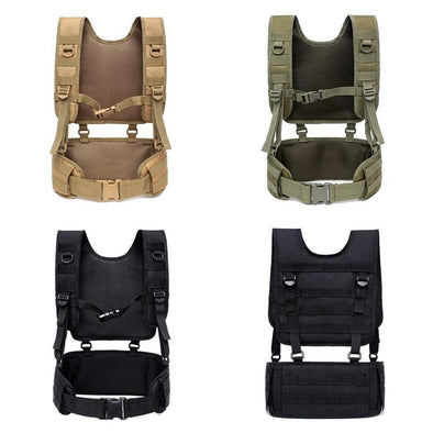 Demeysis Airsoft Tactical Belt-Harness Combination - KNAMAO