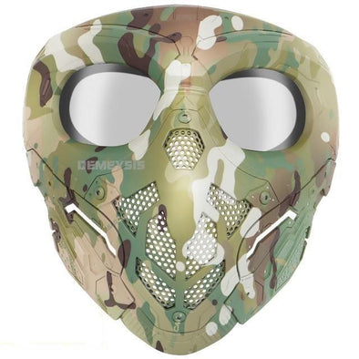 Demeysis MA-130 Military Paintball Full Face Mask - KNAMAO