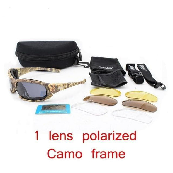 Demeysis X7 Tactical Men's Polarized Sport Glasses - KNAMAO
