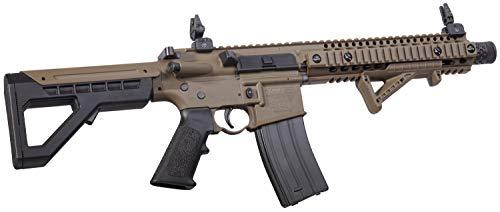 DPMS Full Auto SBR CO2-Powered BB Air Rifle with Dual Action Capability Dark Earth - KNAMAO