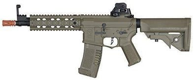 Elite Force Amoeba AM-008 AEG Automatic 6mm BB Rifle Airsoft Gun FDE - KNAMAO